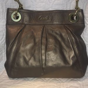 Coach Ashley Hippie Bag in bronze color F17605